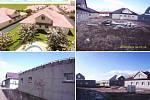 Rozestavěné domy v Račeticích jsou častým cílem vandalů.
