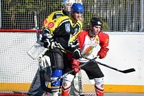 Ze zápasu Dandy Chomutov - Panthers Kadaň.