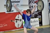 Robin Kočí zvítězil v kategorii mladších žáků, ve váze do 36 kg.