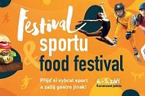 Přijďte si vybrat sport a zažijte gastro jinak! Na Kamencovém jezeře 4. – 5. září.