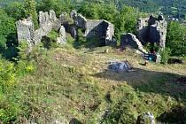 Zřícenina hradu Šumburk