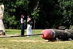 V Olejomlýnském parku v Jirkově skončilo sochařské sympozium