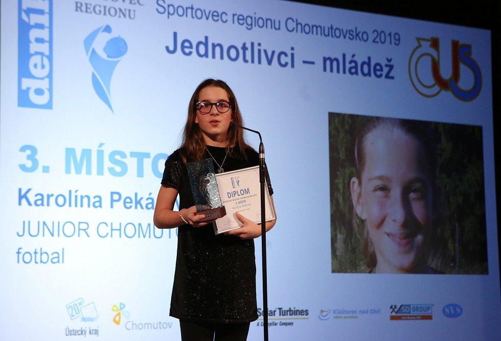 Vyhlášení nejúspěšnějších sportovců regionu Chomutovsko.