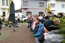 Uctění památky padlých vojáků v Jirkově