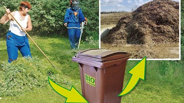 Třídíte bioodpad? Město vás odmění.