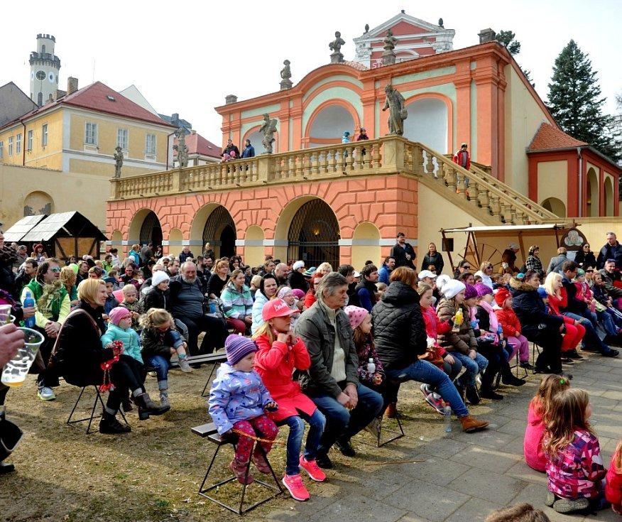 Velikonoce na zámku v Klášterci.