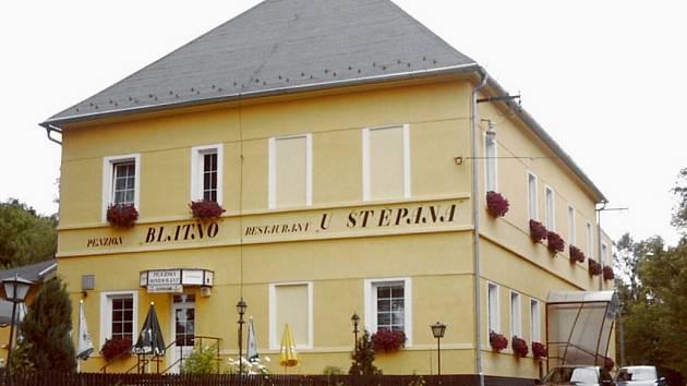 Restaurace U Štěpána Blatno.