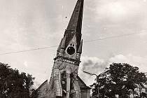 V roce 1972 byl kostel odstřelen, aby udělal místo jiné stavbě...