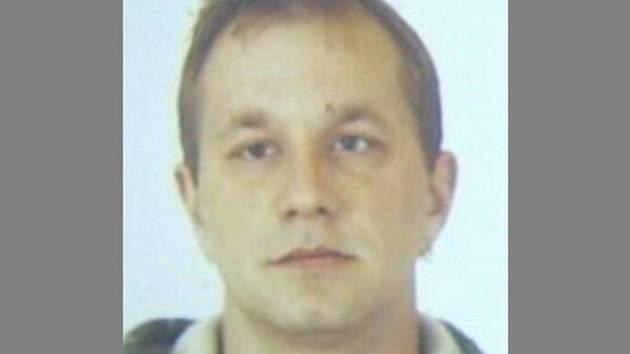 Pohřešovaný Václav Holub.