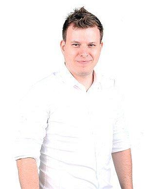 David Dinda - Nový Sever, 29let, marketingový ředitel Pirátů.