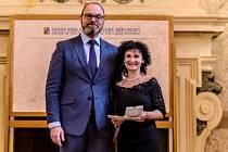 Doris Homolková byla oceněna za dlouhodobou vynikající pedagogickou činnost