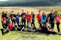 Madrigal - instrumentální skupina z Gymnázia v Kadani.