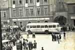 Chomutovské náměstí bylo v srpnových dnech 1968 centrem protestů.