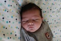 David Žák se narodil mamince Natálii Žákové a tatínkovi Davidovi Spaziererovi z Jirkova 27.9.2019 ve 12:58 hodin. Měřil 50 cm a vážil 3,35 kg.