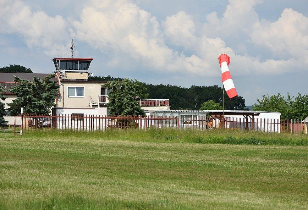 Letiště v Pesvicích.