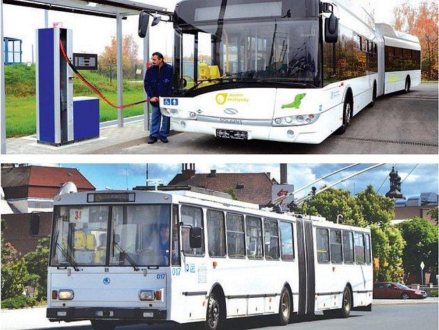 Co bude jezdit v Chomutově a Jirkově? Autobusy na CNG nebo trolejbusy?