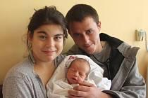 Samuel Jokl se narodil mamince Kateřině Joklové a tatínkovi Liboru Novému z Kadaně  12.10.2018 v 10:19 hodin. Měřil 48 cm a vážil 2,93 kg.