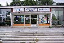 Vchod do areálu v Cihlářské ulici.