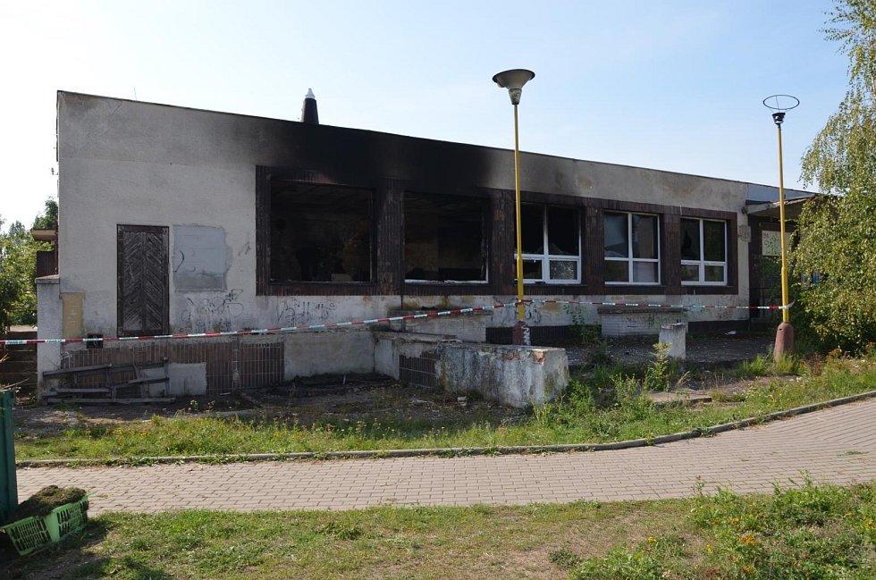 Požár domu v Jirkově