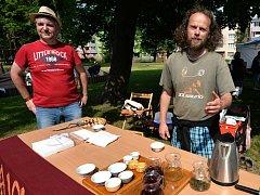 První ročník čajového festivalu v Kadani