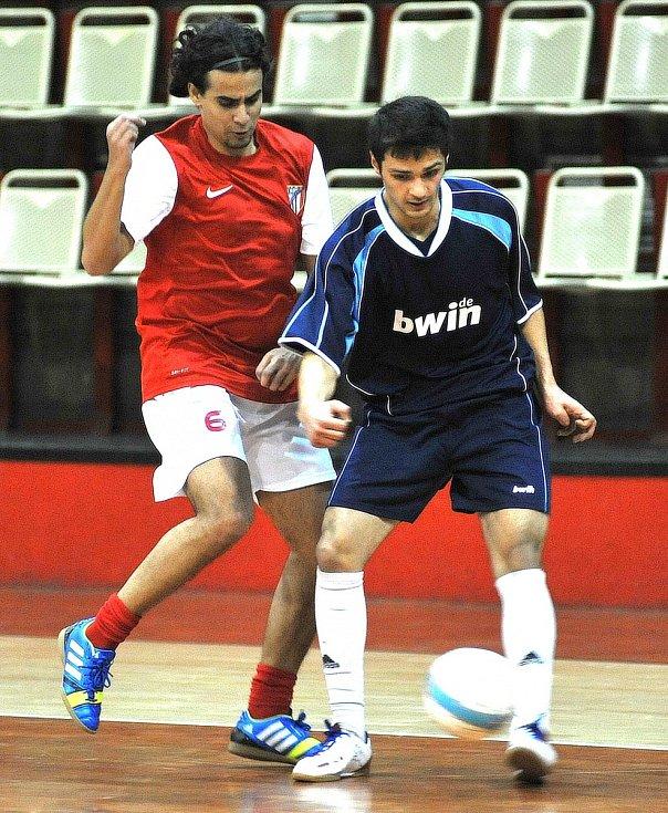 FC Atletico Chomutov  - 1. Futsal Club Schwandorf 5:5 (4:2).
