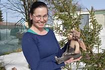 Pavlína Drexlerová s andělem křtěným ohněm.