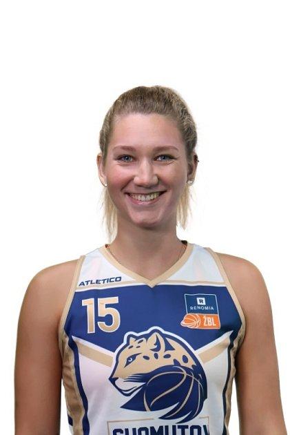 Basketbalistka Michaela Krejzová.
