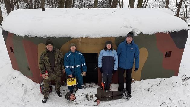Proběhla další zimní brigáda muzea Na Kočičáku.