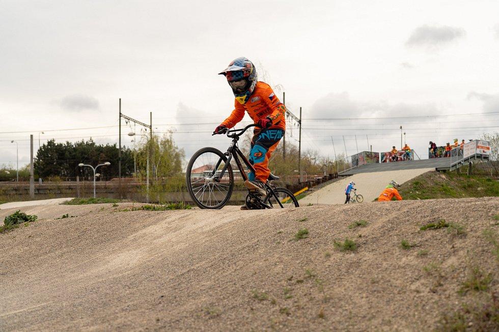 BMX trénink.