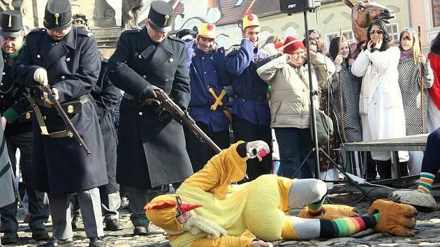 Vojáci stříleli do kuřat - Švejkovo tajných agentů.