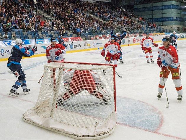 Úvodní gól sezony. Michal Poletín se trefil už ve druhé minutě.