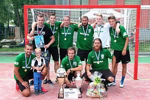Vítěz Euro Logistic Bus Cupu tým FC Baník Chomutov.