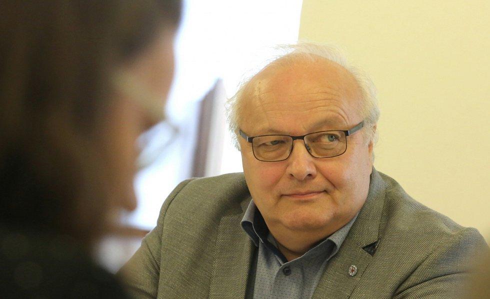 Jiří Mladý, ředitel Střední školy technické, gastronomické a automobilní Chomutov