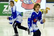 """Vlajkonoši"" hokejistů KLH Chomutov."