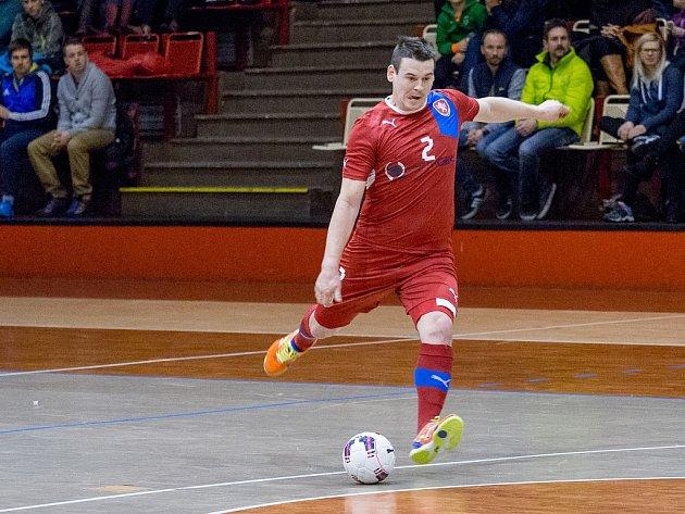 David Cupák hrál naposledy v chomutovské hale proti Rumunsku