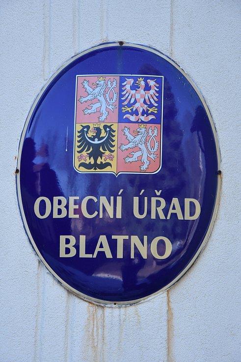 Znak Blatna.