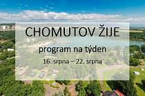 Také v tomto týdnu pokračuje série letních akcí Chomutov žije!
