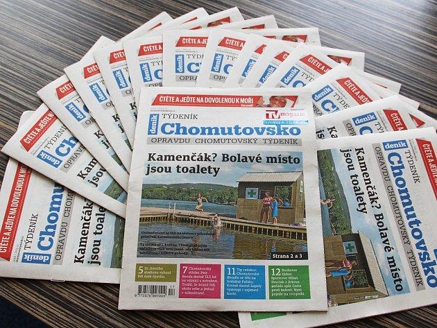 Týdeník Chomutovsko z 24. dubna 2018