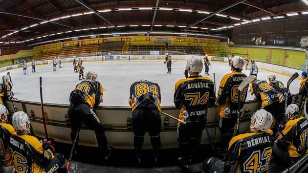 Kadaňští hokejisté.