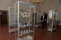 Výstava porcelánu.
