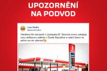 Benzina upozornila na podvodné reklamy.