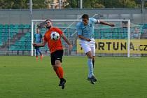 Chomutov (v modrém) už v pátek hraje se Slaným.