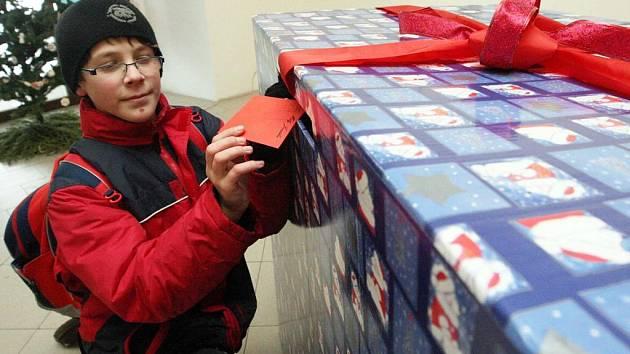 Své přání do vánoční krabice vhodil i Radek Hlavatý.