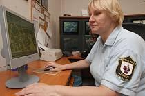 Marta Bendová, ředitelka městské policie v Jirkově.