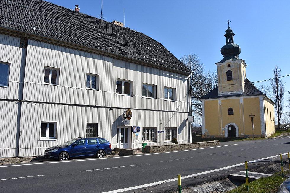 Nejvýznamnější památkou v Křimově je původně gotický kostel svaté Anny ze 14. století. Stojí naproti obecnímu úřadu.