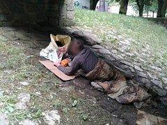 Strážníci narazili na muže, který ležel pod mostem přes Chomutovku.