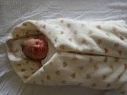 Damián Šnejder spatřil poprvé světlo světa 19.2.2017 v 10:35 hodin v chomutovské porodnici. Maminka Simona Haklová a tatínek Daniel Šnejder z Chomutova se od té doby radují z chlapečka s mírami 3,3 kg a 50 cm.