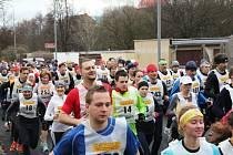 Na 37. ročníku Zimního běhu Bezručovým údolím byla rekordní účast - 244 běžců