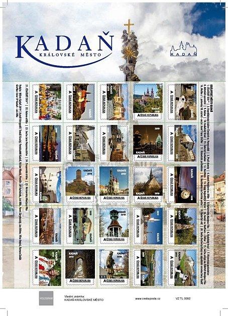 Nové známky smotivy Kadaně