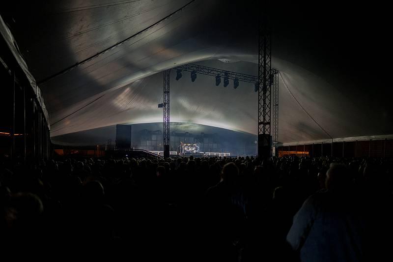 Cirkus Kabát v Chomutově.